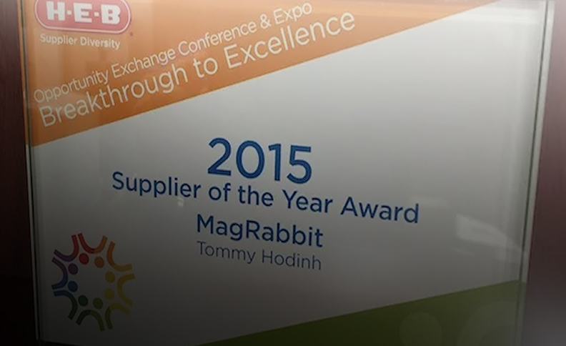 2015 H-E-B Supplier of the Year Award